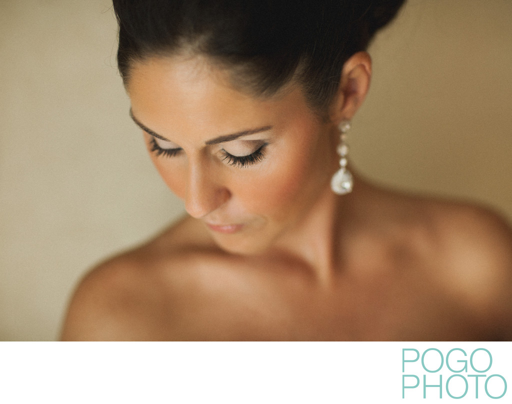 Bridal portraits at West Palm Beach wedding