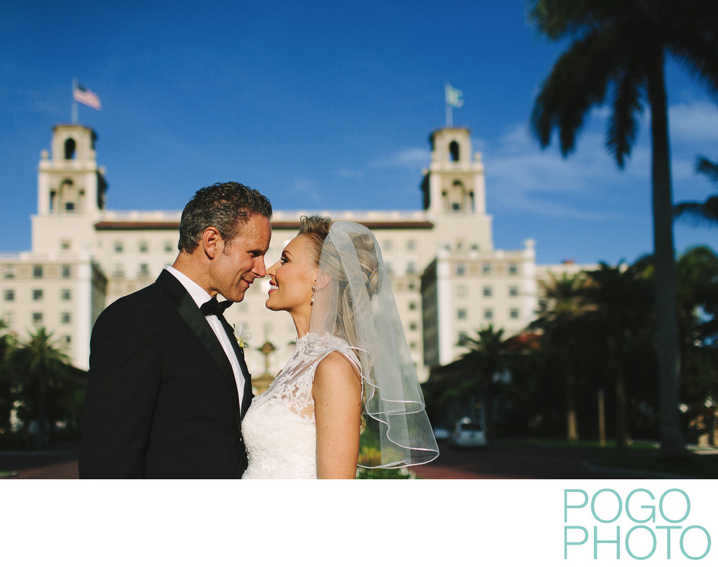 Beautiful Wedding Photography at The Breakers