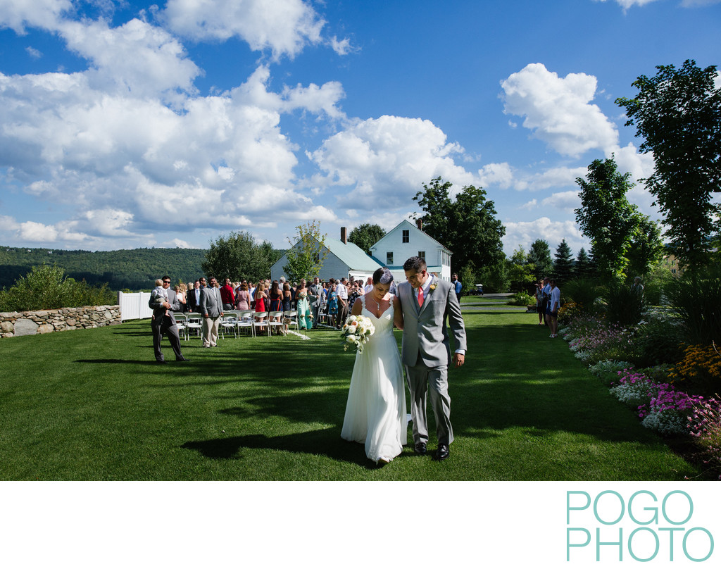 Toll Gate Garden Ceremony at Okemo Mountain Resort