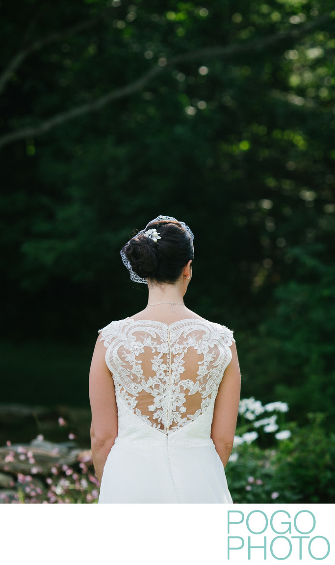 Killington Bridal Portrait with Lace Back Detail