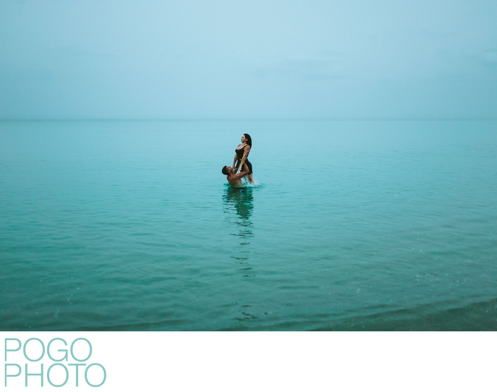 Sexy Engagement Photography on Private Secluded Beach