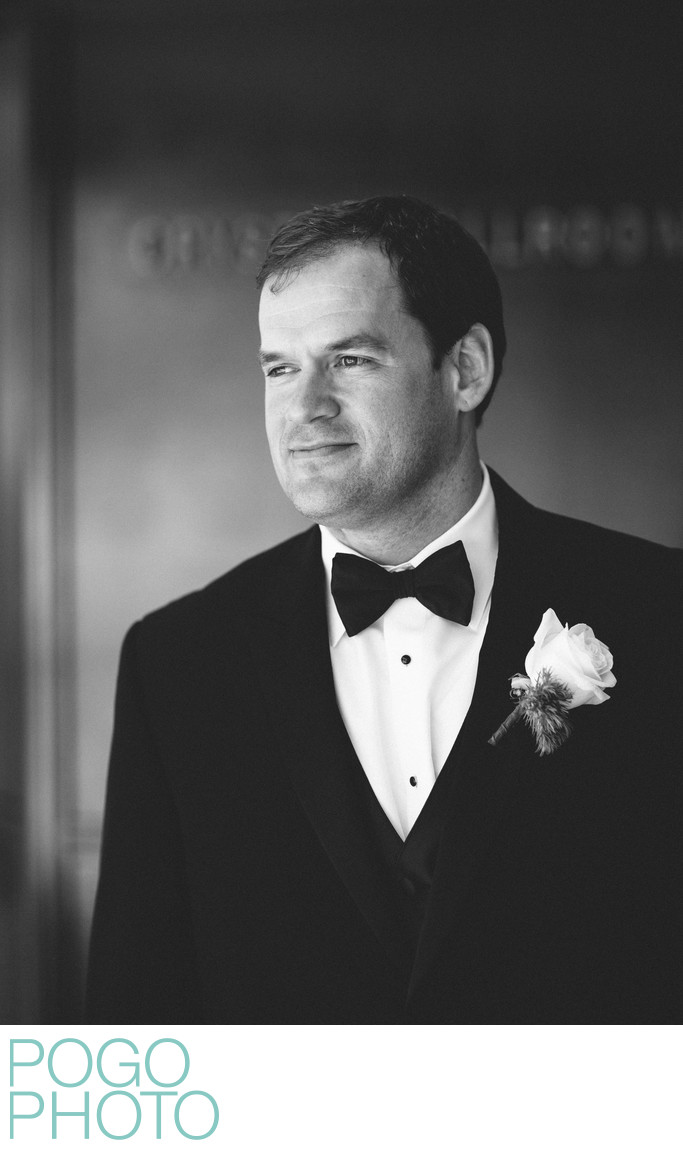 Debonair Groom Channels Inner James Bond at FTL Wedding