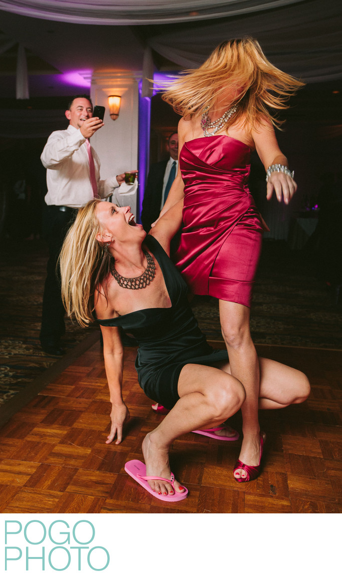 Admiral's Cove Wedding Guests Get Wild on Dance Floor