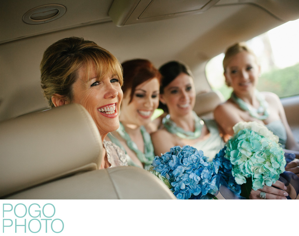 Mother of the Bride and Bridesmaids Arrive in Naples FL