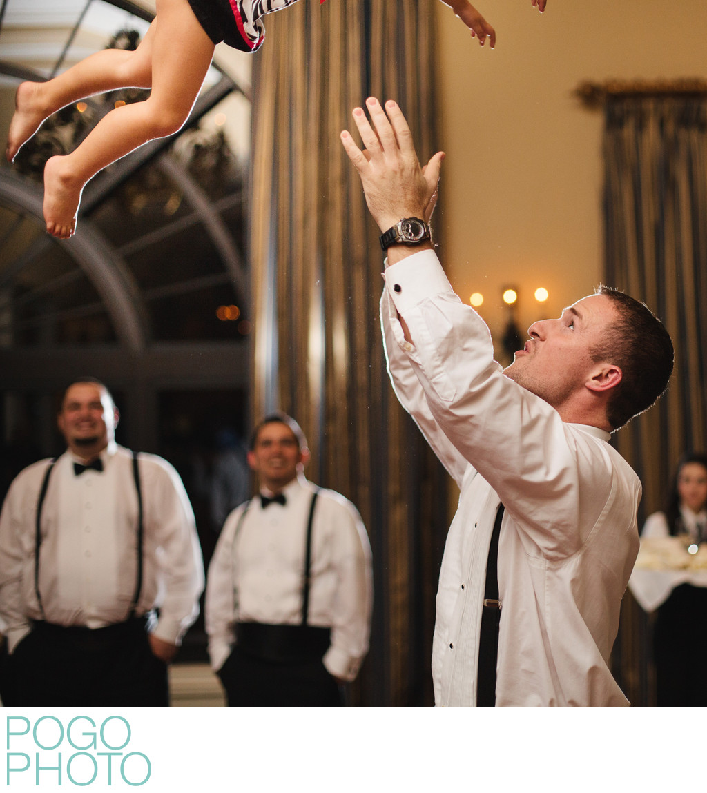Funny Daddy Daughter Dance Photo at Jupiter FL Wedding
