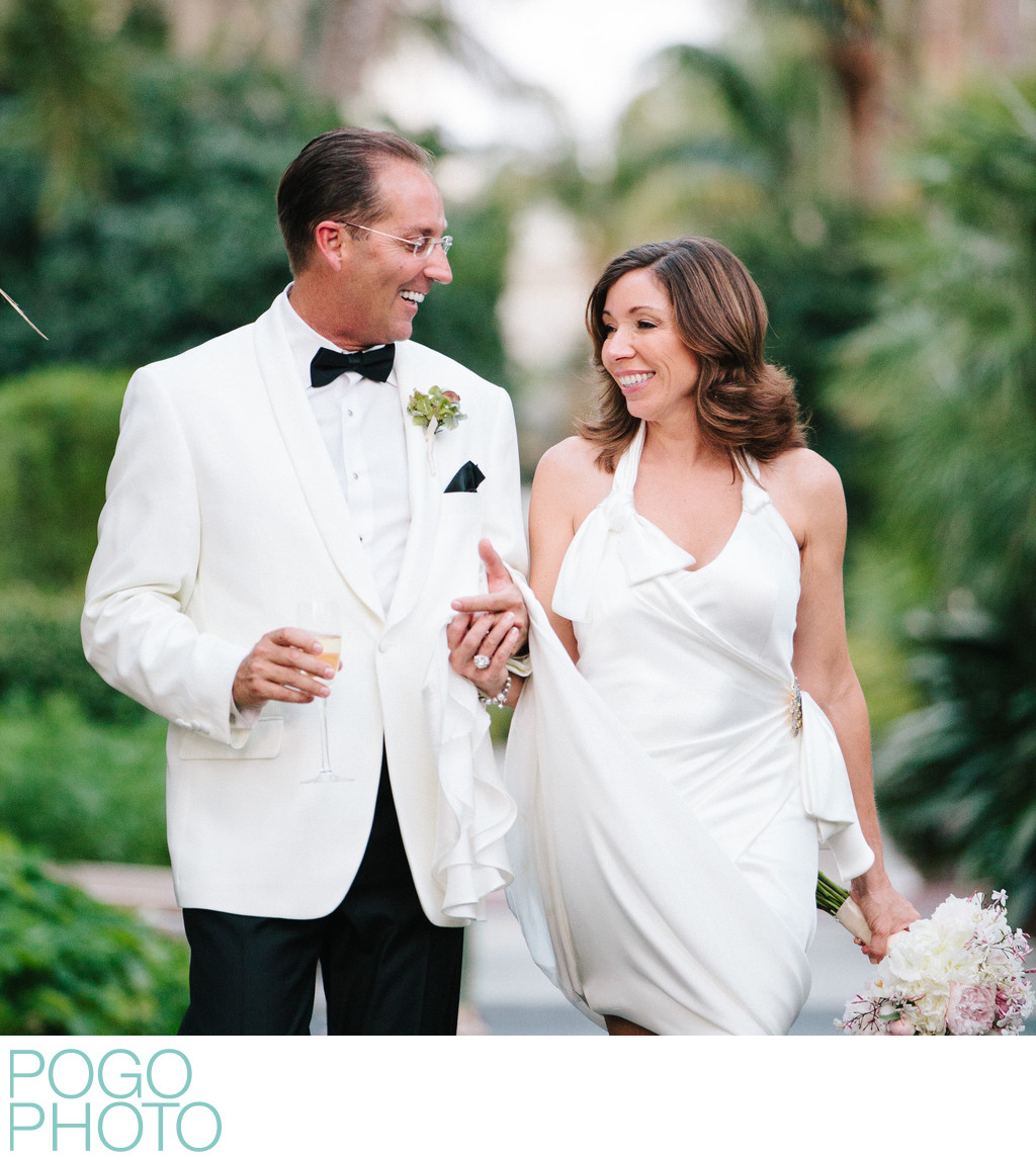 Mature Couple Wedding Photos at The Breakers Palm Beach