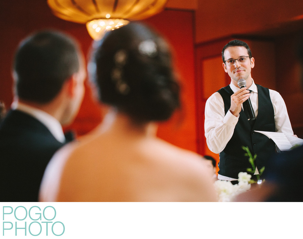 Wedding Toast & Speech From Emotional Brother of Bride