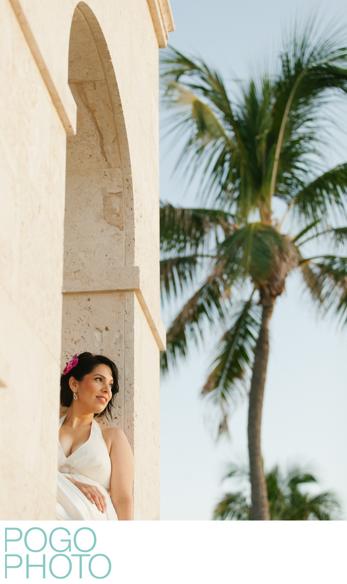 Sunrise Elopement on Worth Avenue in Palm Beach Florida