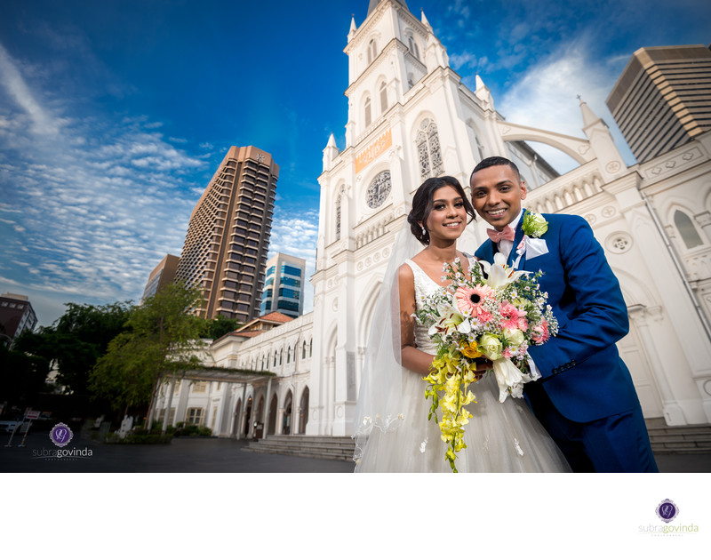 Chijmes Wedding Photograph