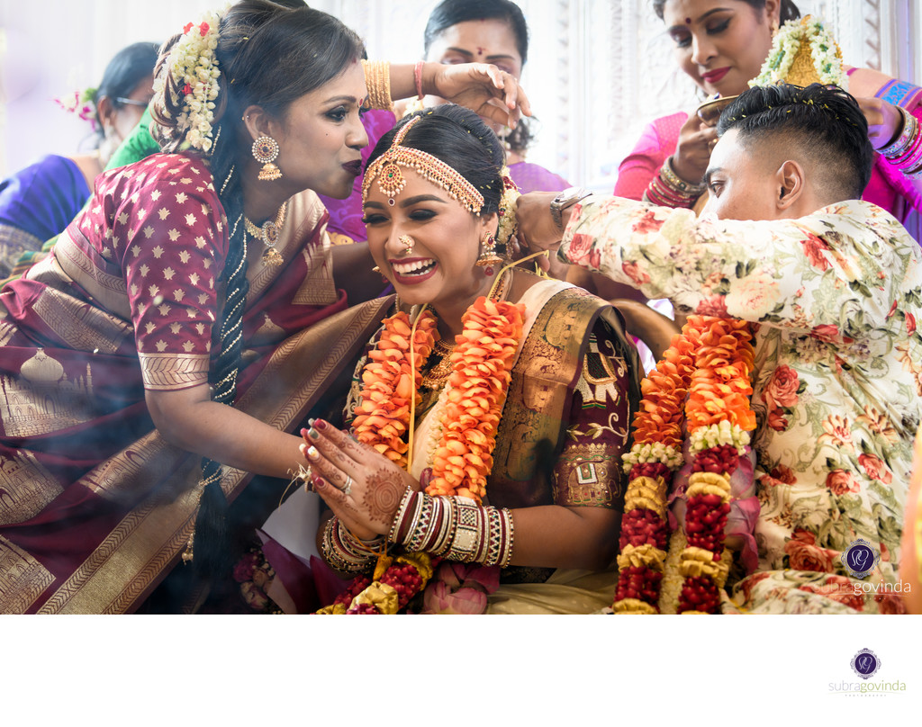 Singapore Hindu Wedding Photographer