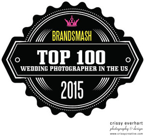 Brandsmash Top 100 Wedding Photographers in the US