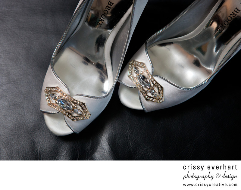 Bride's shoes- Wedding Photography Details West Chester