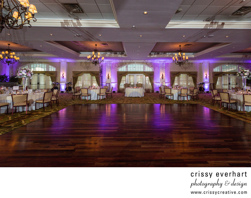 Rivercrest Golf Club Wedding Reception Ballroom
