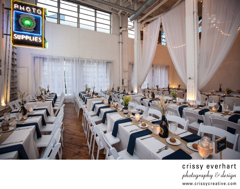 Power Plant Productions Wedding Set-up Philadelphia