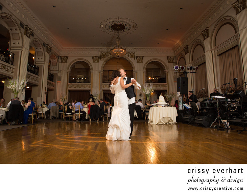 Ballroom at the Ben Philadelphia Wedding Photographer