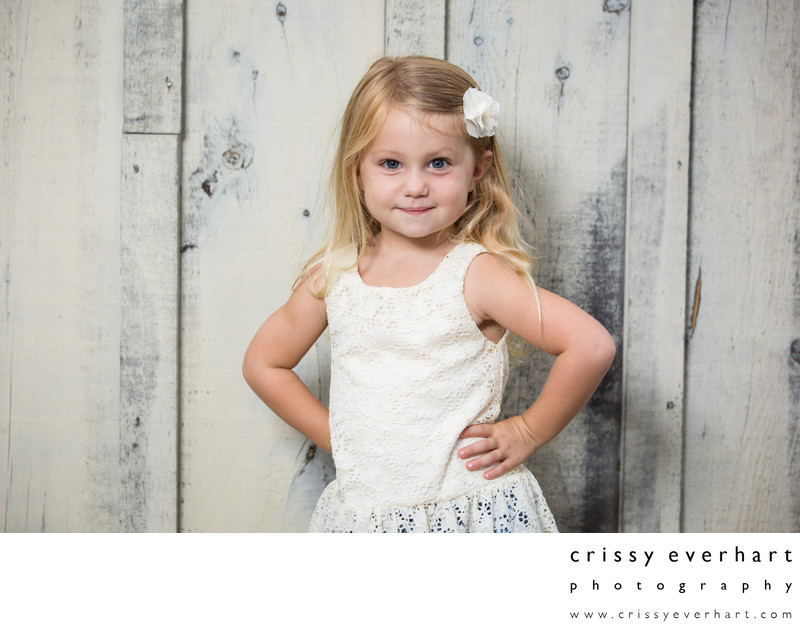 Professional Children's Portraits at Historic Barn