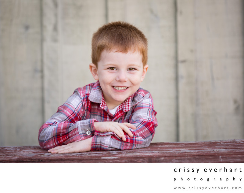 Rustic Outdoor Portrait Studio in Chester County