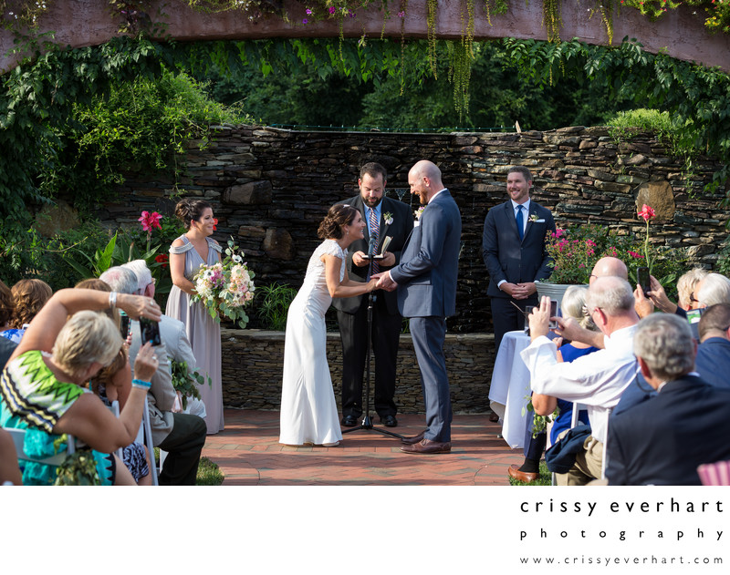 Gables Chadds Ford Outdoor Summer Wedding Ceremony