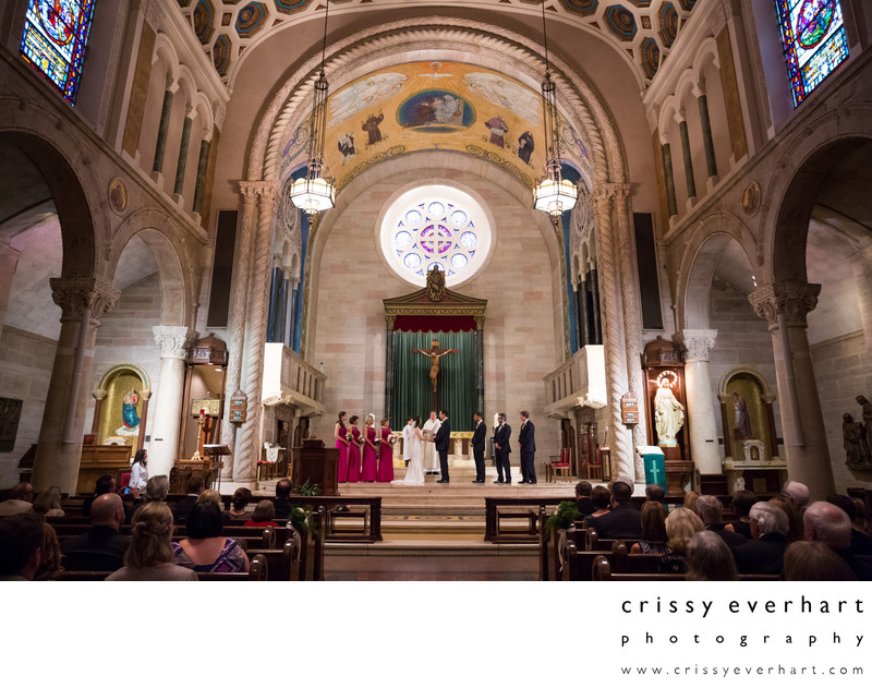 St Anthony's of Padua Wilmington Delaware Wedding