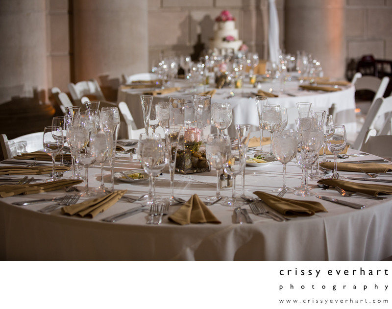 Philadelphia Center City Wedding Reception Dining Decor