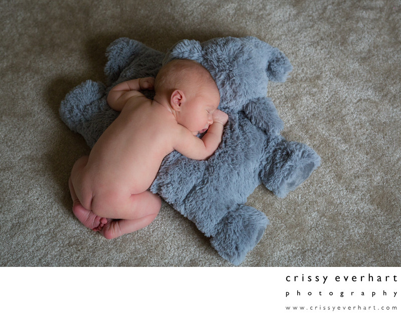In-home Lifestyle Newborn Session Montgomery County