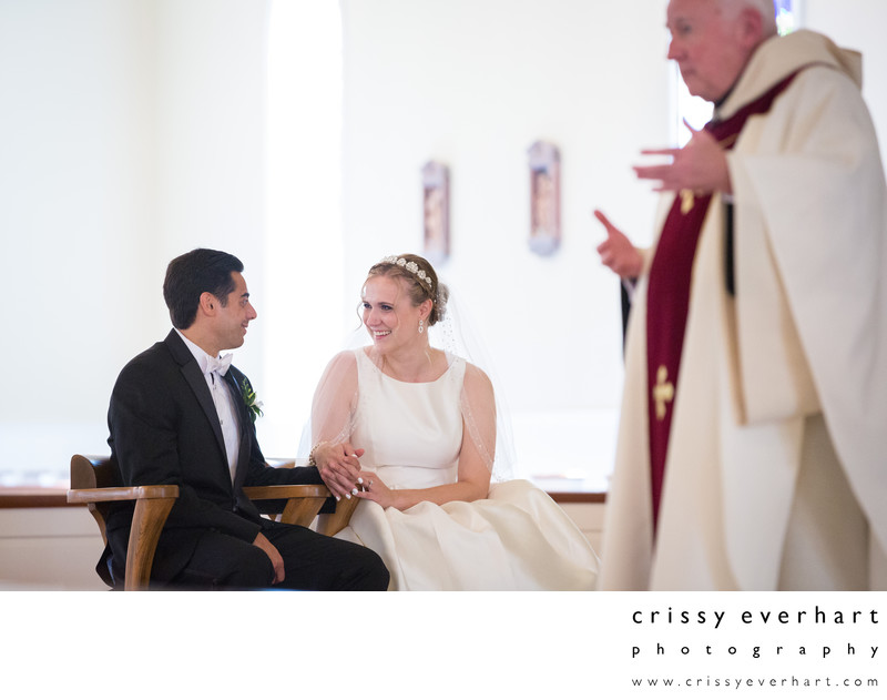 Malvern Prep Wedding Ceremony - Catholic Service