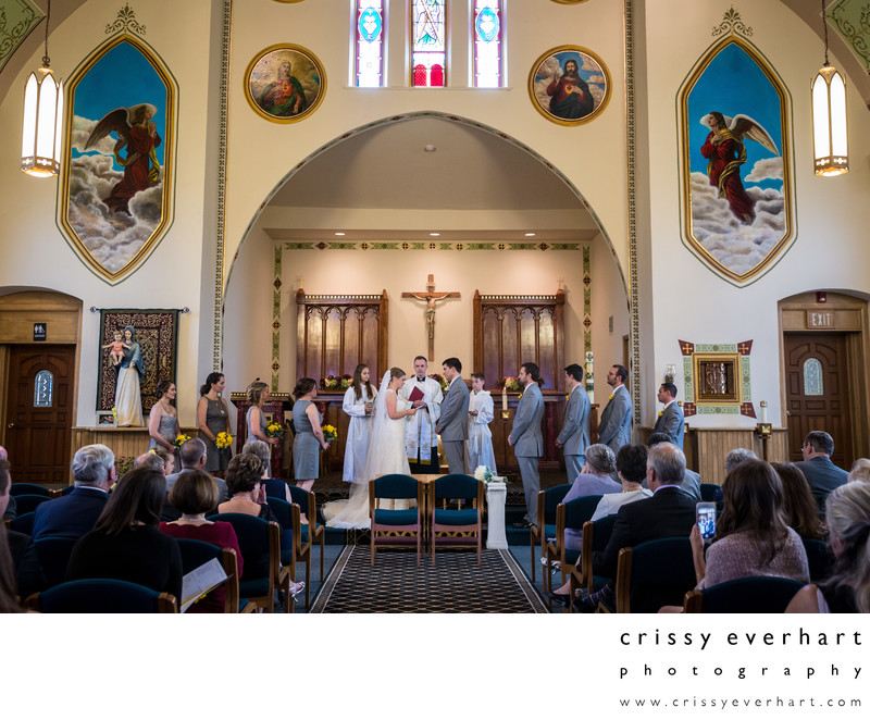Newtown Wedding - The Old Church of Saint Andrew