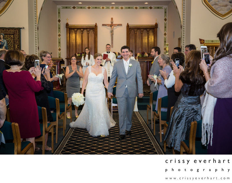 The Olde Church of St Andrews Wedding Ceremony