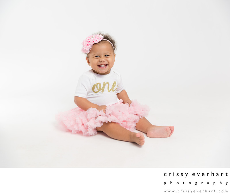 Baby's First Year Portraits - Studio Photography