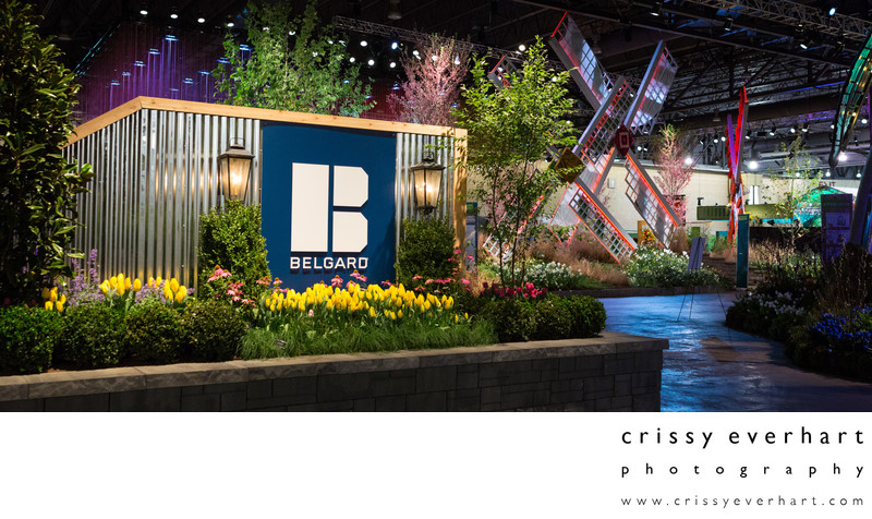 Convention Photography - Philly Flower Show Booths