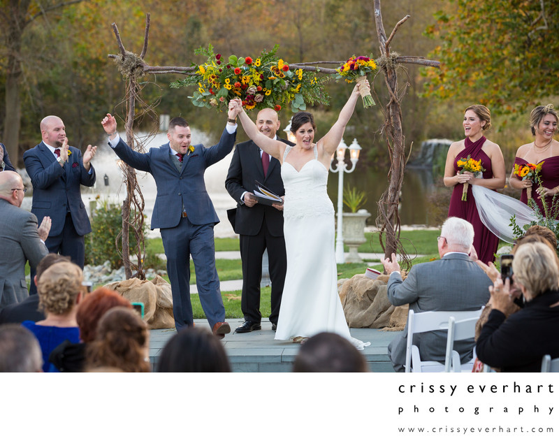 Wedding Ceremony- Manor House at Prophecy Creek Park