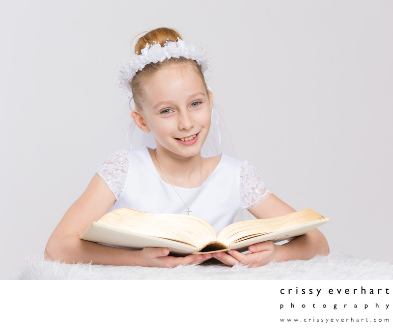 First Holy Communion Portrait Photographer