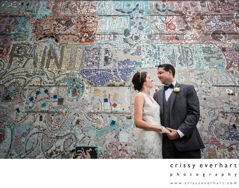 Philadelphia Wedding Photos - Painted Bride Mosaic