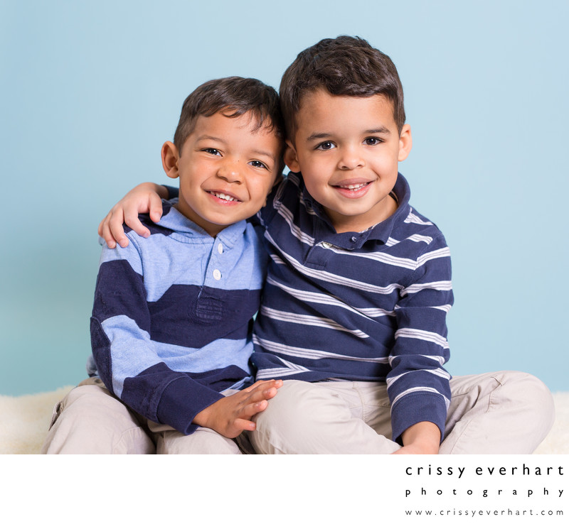 Preschool Portraits with Siblings