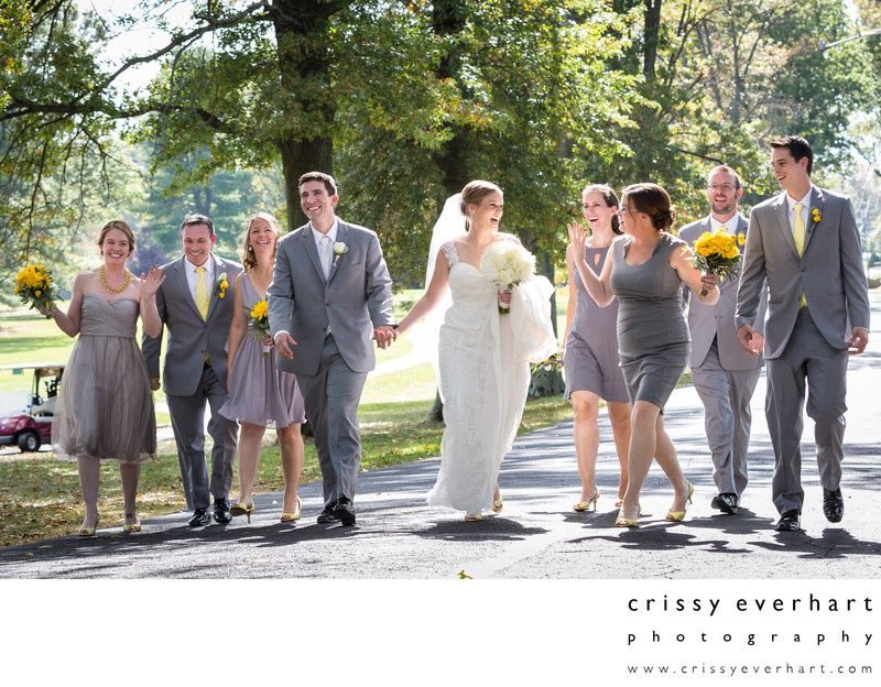 Northampton Valley Country Club Wedding Photographer