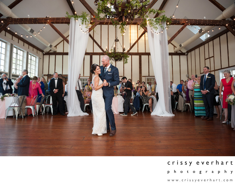 Gables Chadds Ford Wedding Reception First Dance