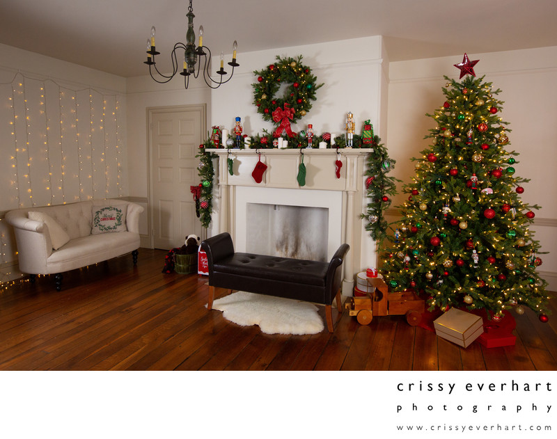 Christmas Portraits - Malvern Studio Holiday Photos