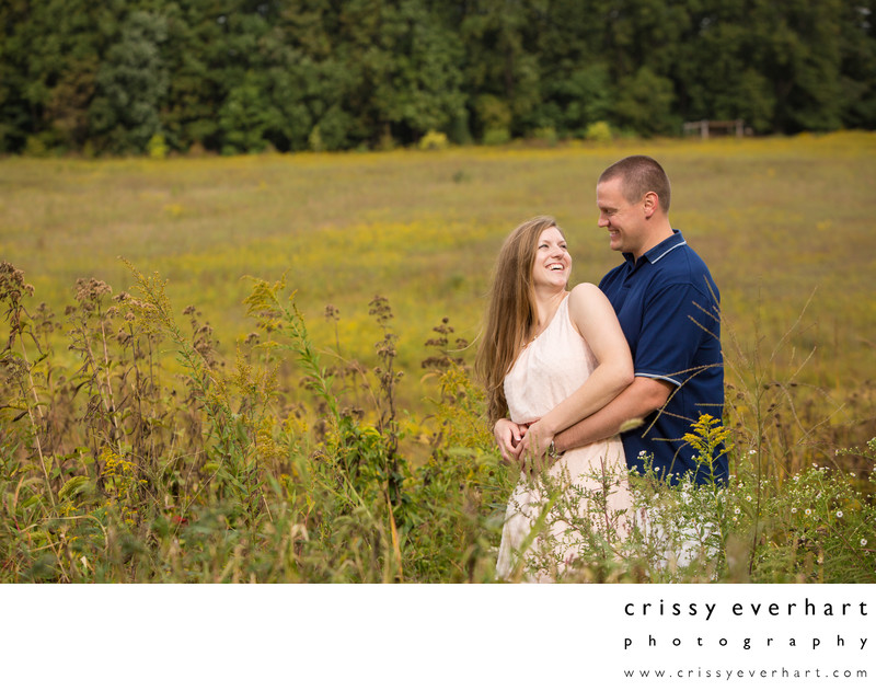 Longwood Gardens Couple's Photo Session