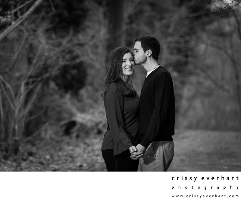 Winter Engagement Session in Chester County