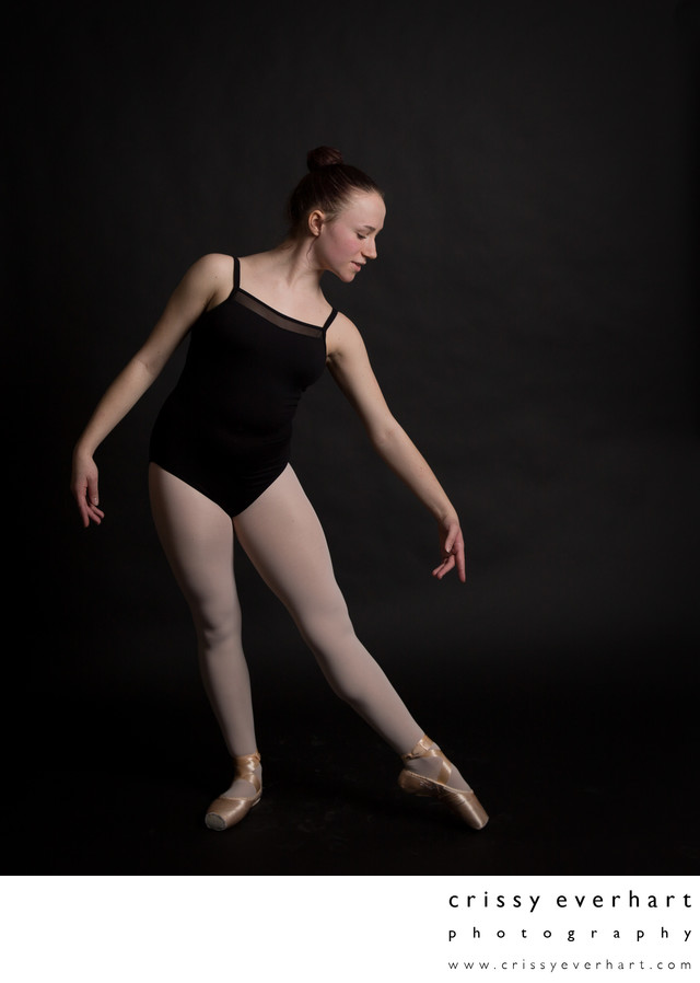 Dance Portraits in Chester County - Ballerina Photos