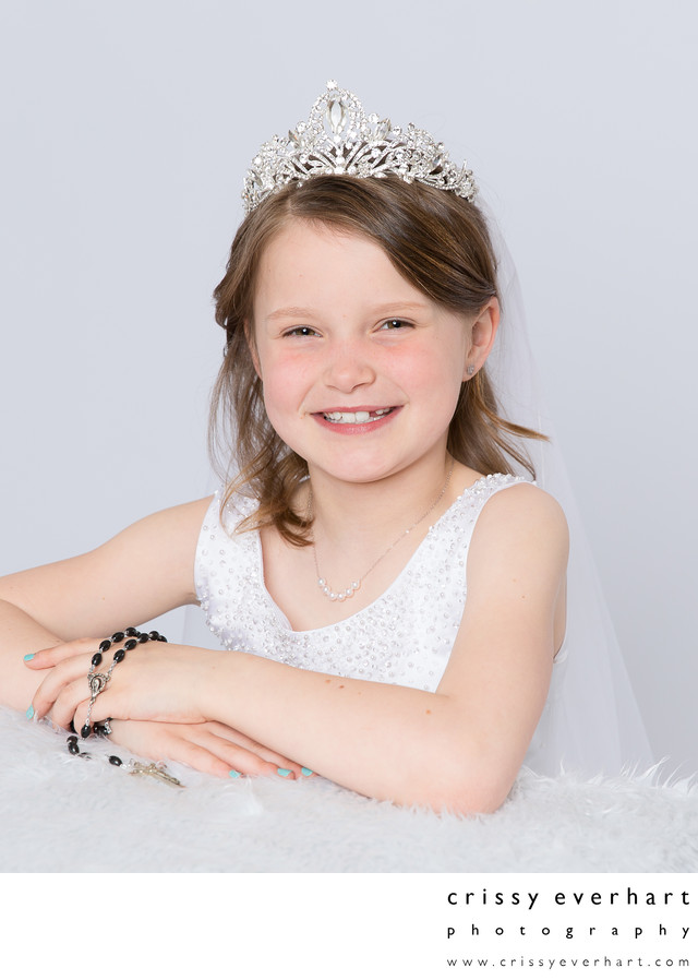 First Holy Communion Portraits with Rodary