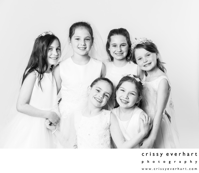 Portrait Party - First Holy Communion Mini Sessions