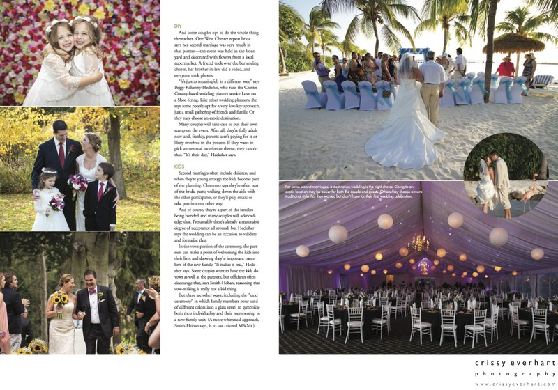 Magazine Spread - County Lines - Wedding Issue 2020