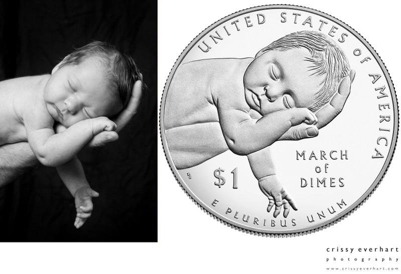 March of Dimes One Dollar Commemorative Coin
