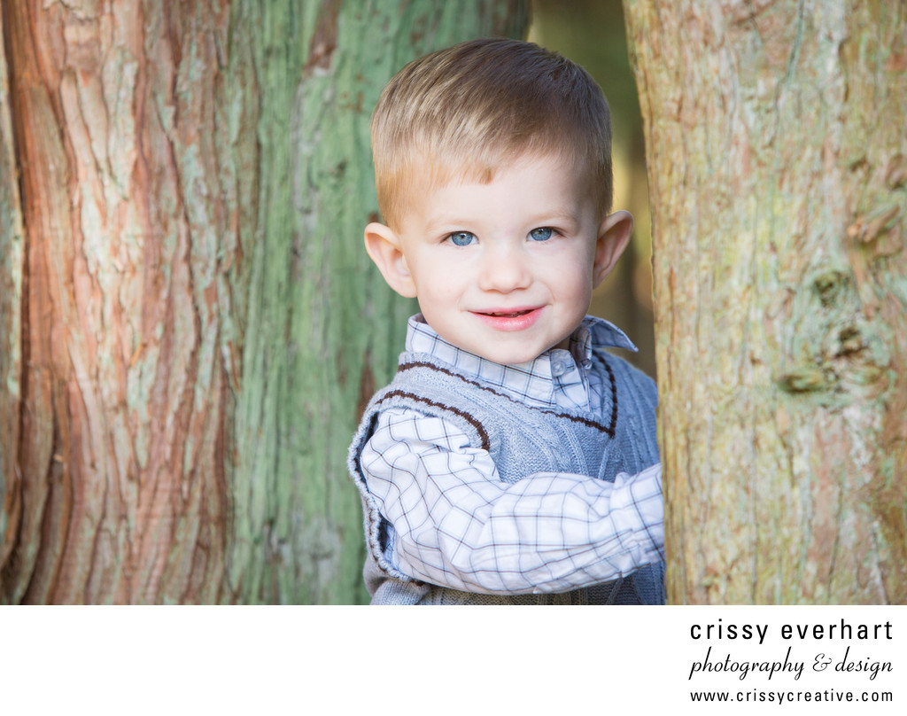 Children's Portraits at Ridley Creek State Park