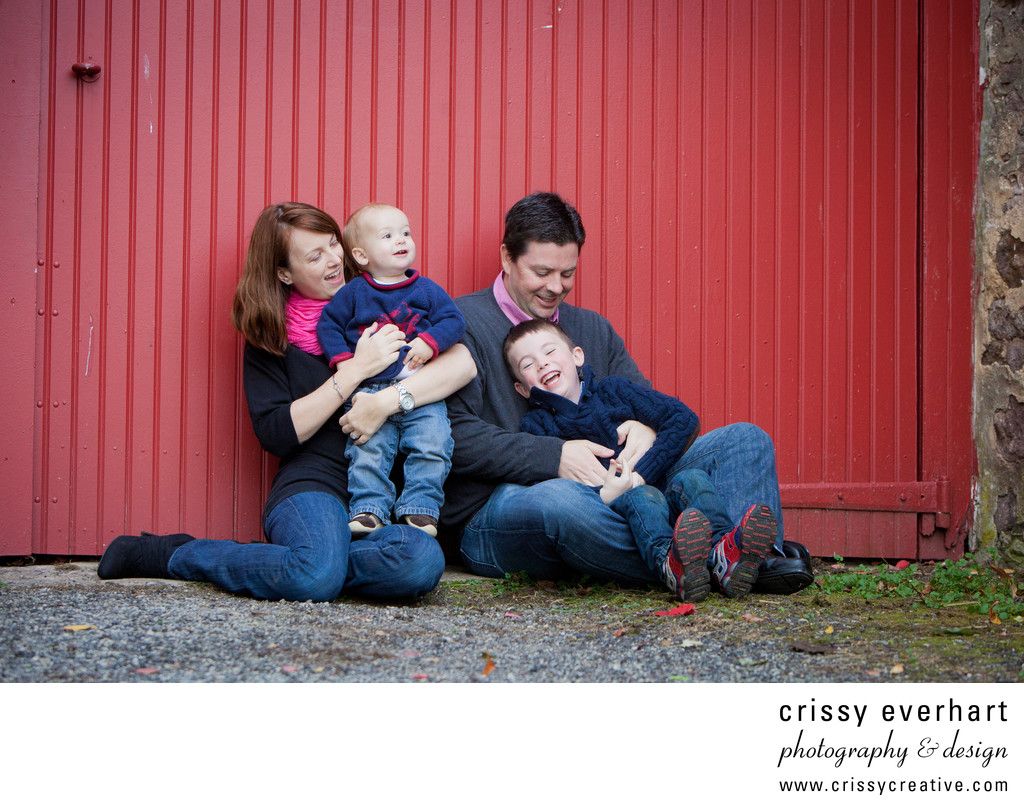 Candid Family Portraits - Fun and Playful Photos