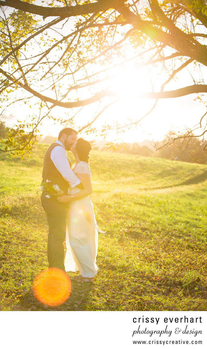 West Chester - Nature Preserve Wedding Photography