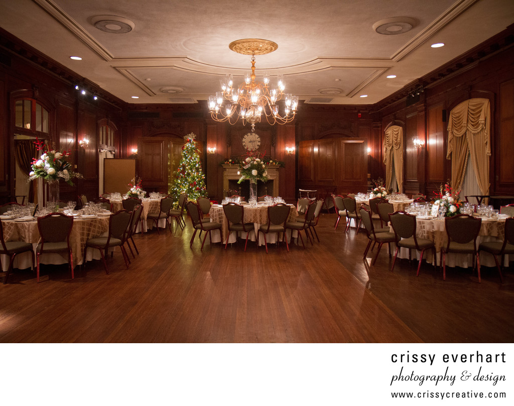 Union League Lincoln Room Holiday Wedding