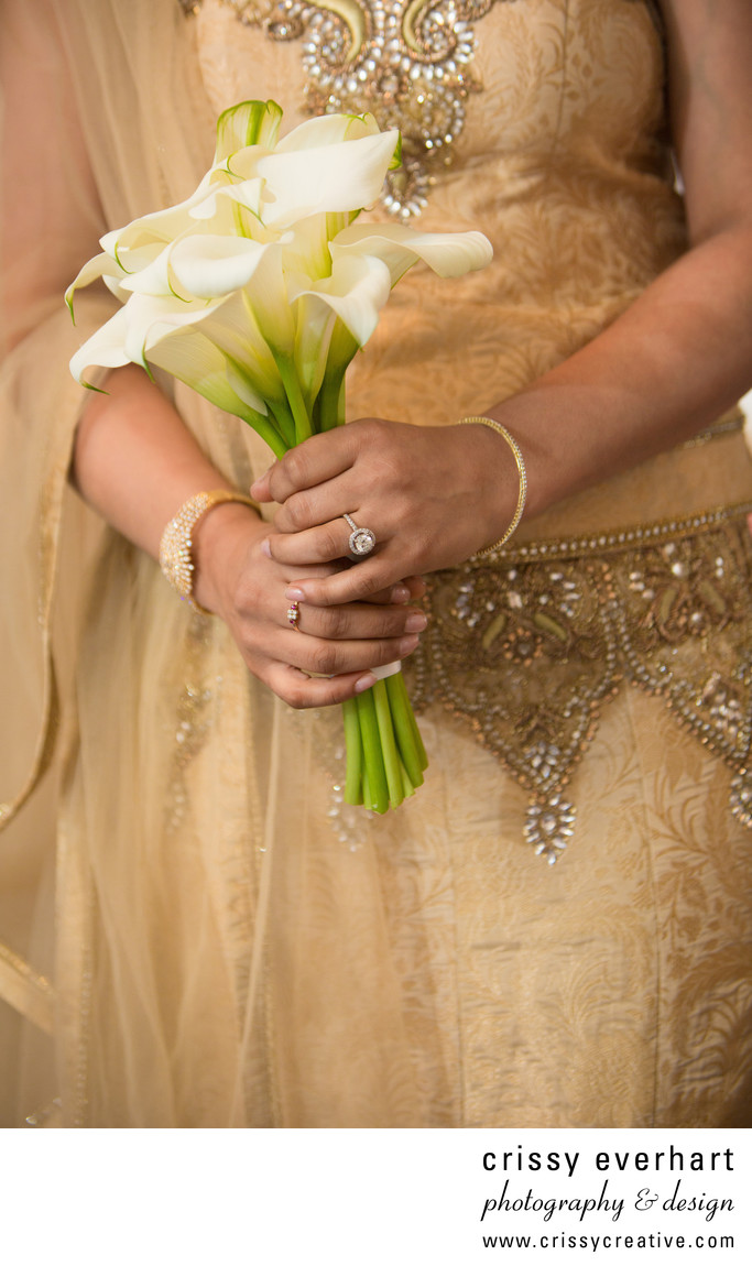 Indian Wedding Details - Villanova Photographer