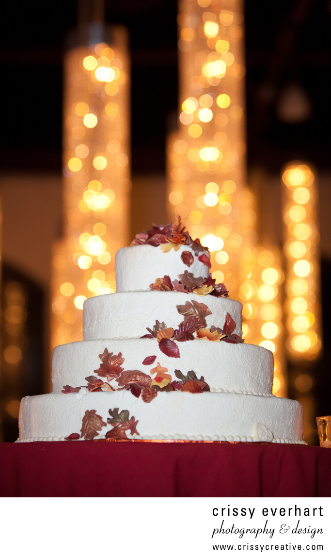 Phoenixville Foundry Fall Wedding Cake